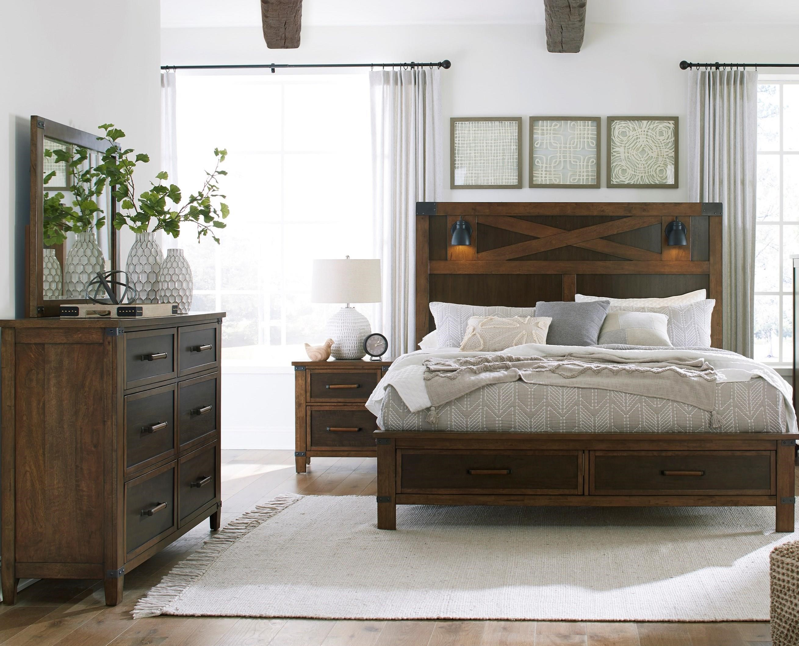 Wyattfield California King Bedroom Group by Benchcraft at Walker's Furniture