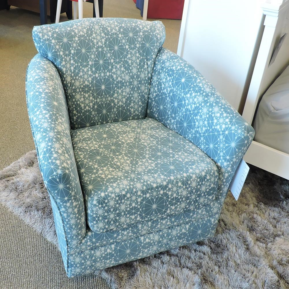 0400 Cady Swivel Chair by Belfort Essentials at Belfort Furniture