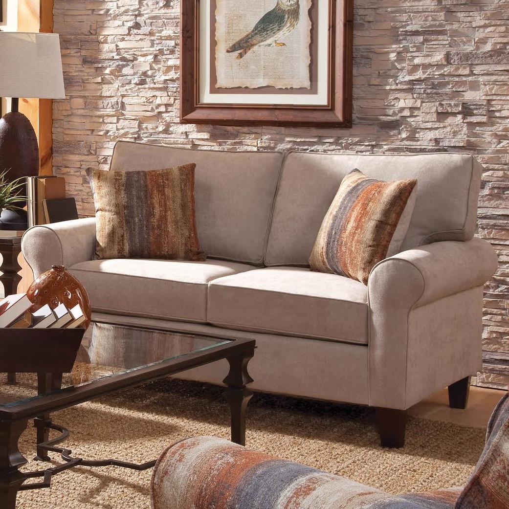 Columbia Heights Loveseat by VFM Essentials at Virginia Furniture Market
