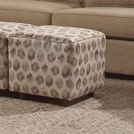 Eliot Cube Ottoman by VFM Essentials at Virginia Furniture Market