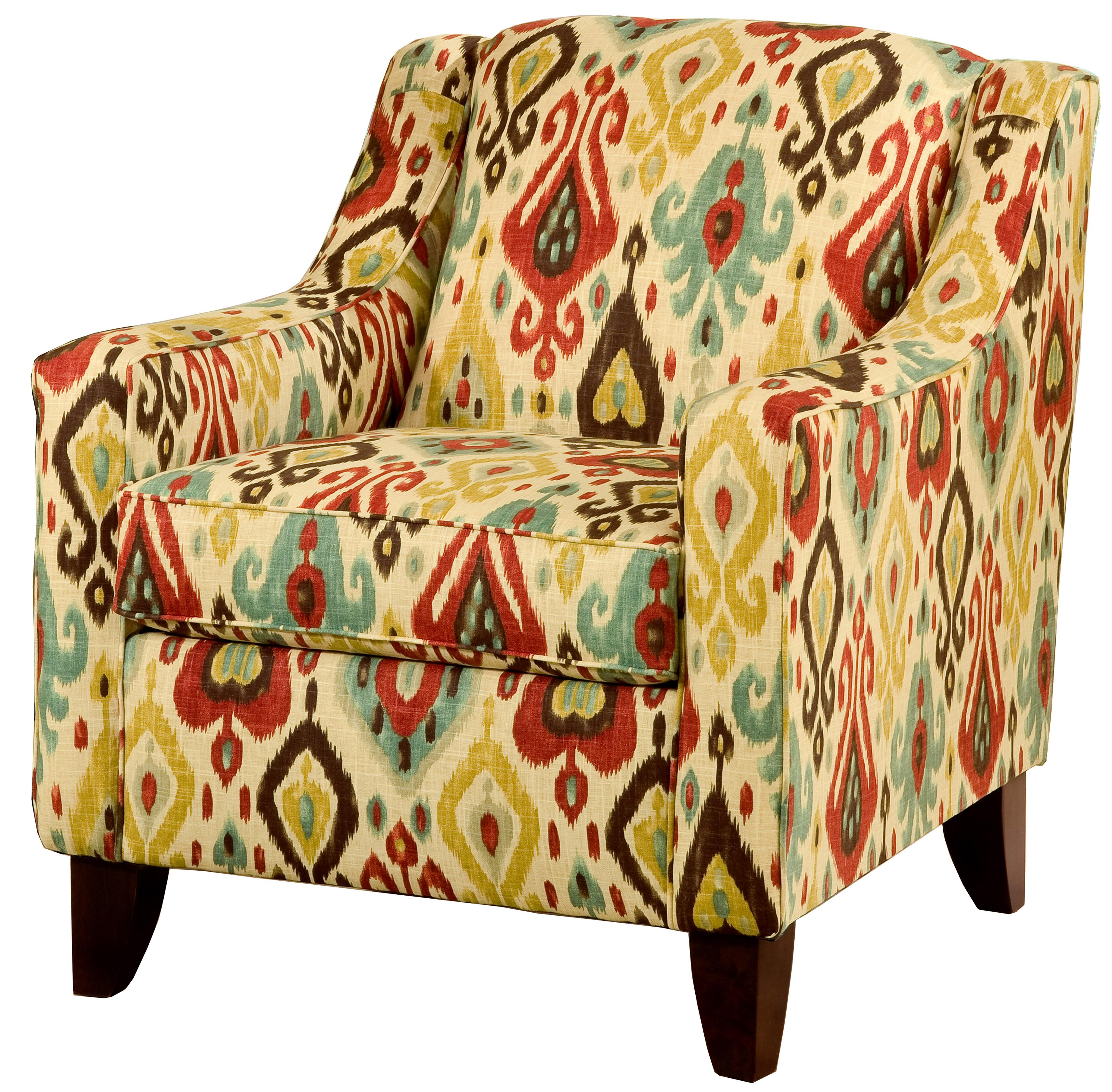 Lily Upholstered Chair by VFM Essentials at Virginia Furniture Market