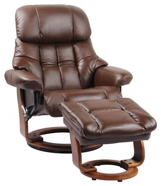 7438 Nicholas Brown Stressless Chair/ Otto by Benchmaster at Furniture Fair - North Carolina