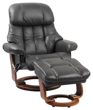 7438 Nicholas Charcoal Stressless Chair/ Otto by Benchmaster at Furniture Fair - North Carolina