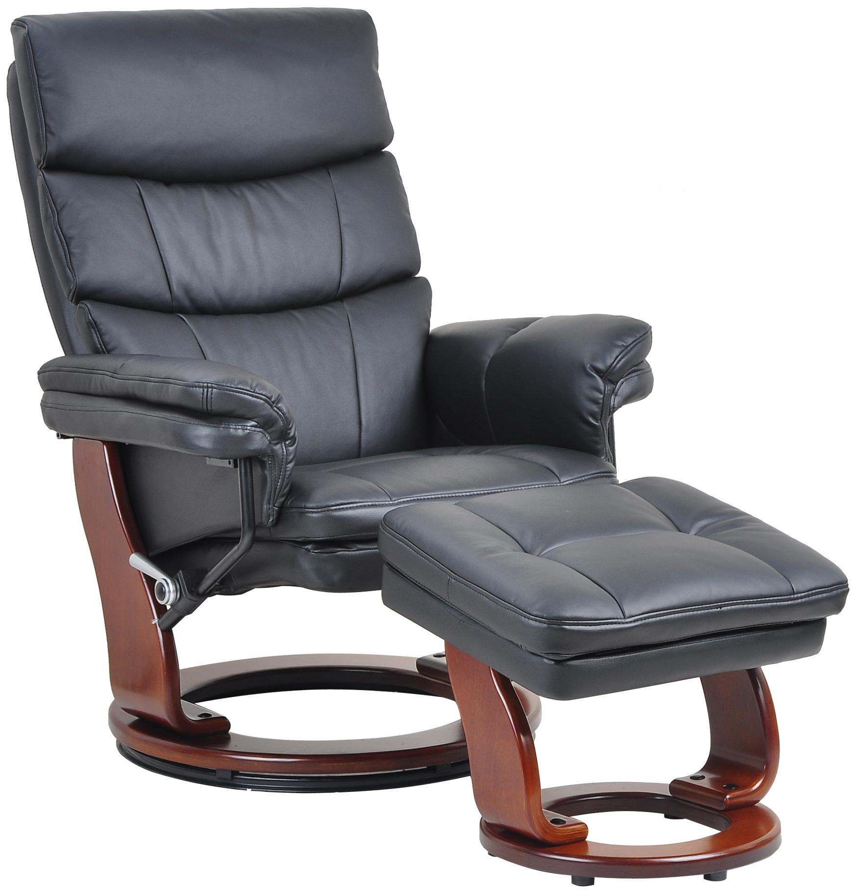 7584 Recliner and Ottoman at Dream Home Interiors