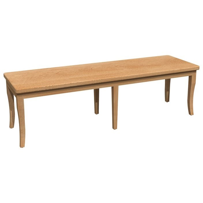 """Bermex - Chairs 60"""" Dining Bench by Bermex at Stoney Creek Furniture"""