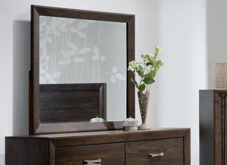 Asheville Mango Mirror by Bernards at Westrich Furniture & Appliances