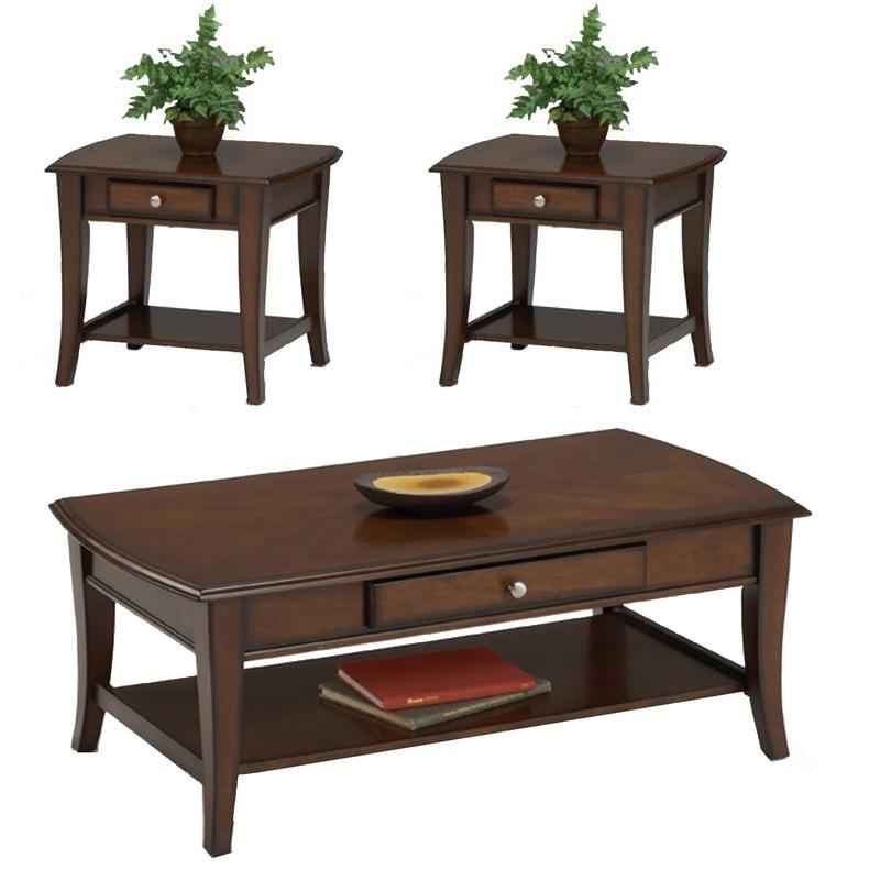 Broadway 3 Pc. Accent Table Group by Bernards at Westrich Furniture & Appliances