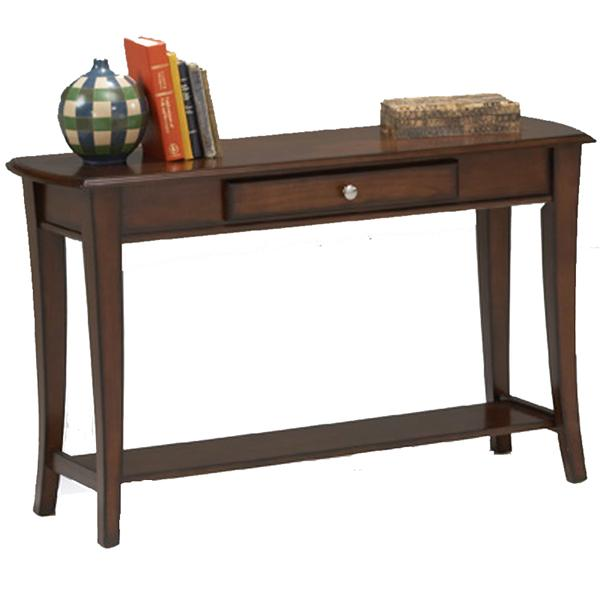 Broadway Sofa Table by Bernards at Westrich Furniture & Appliances
