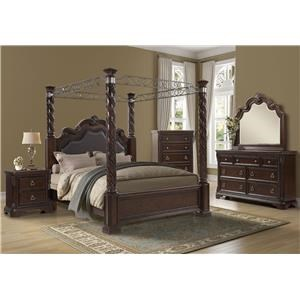 Coventry 5 Pc Queen Bedroom