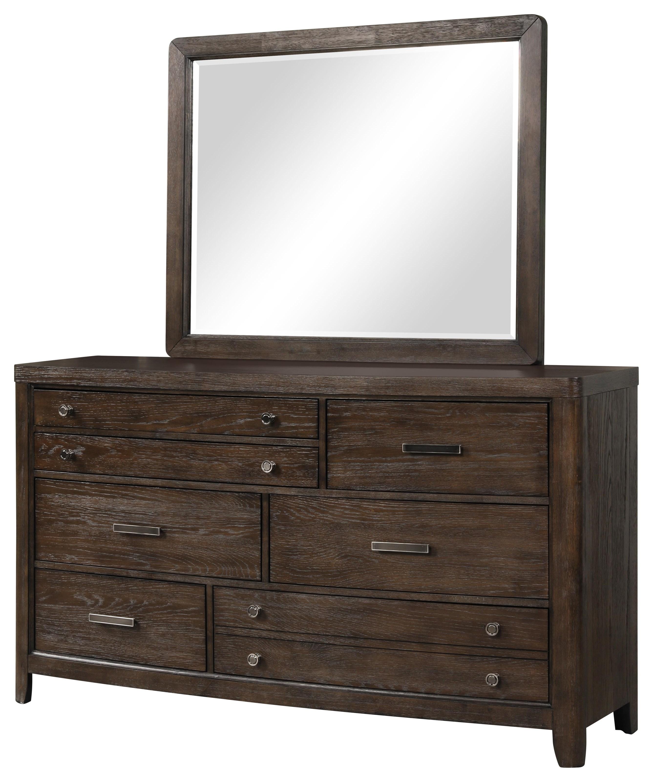 Fulton Mirror by Bernards at Darvin Furniture