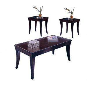 Bernards Versailles 3 Pack of Occasional Tables