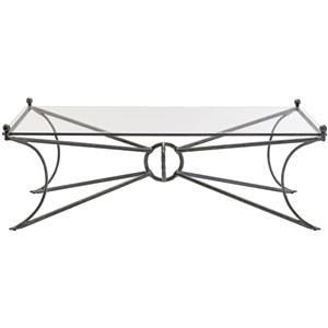 Rectangle Glass Cocktail Table