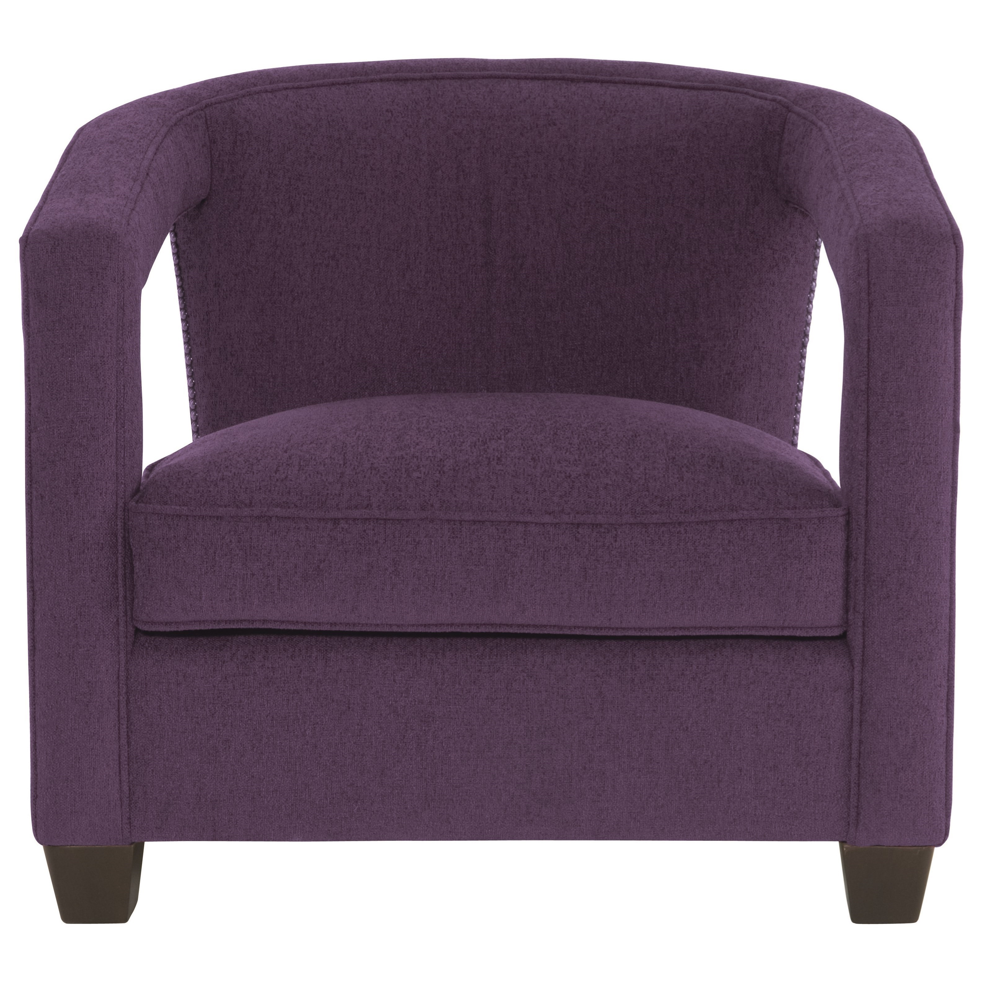 Alana Contemporary Chair with Nailheads at Williams & Kay