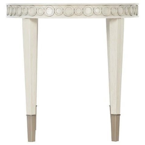 Allure Round Chairside Table by Bernhardt at Fisher Home Furnishings