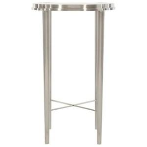Metal Chairside Table