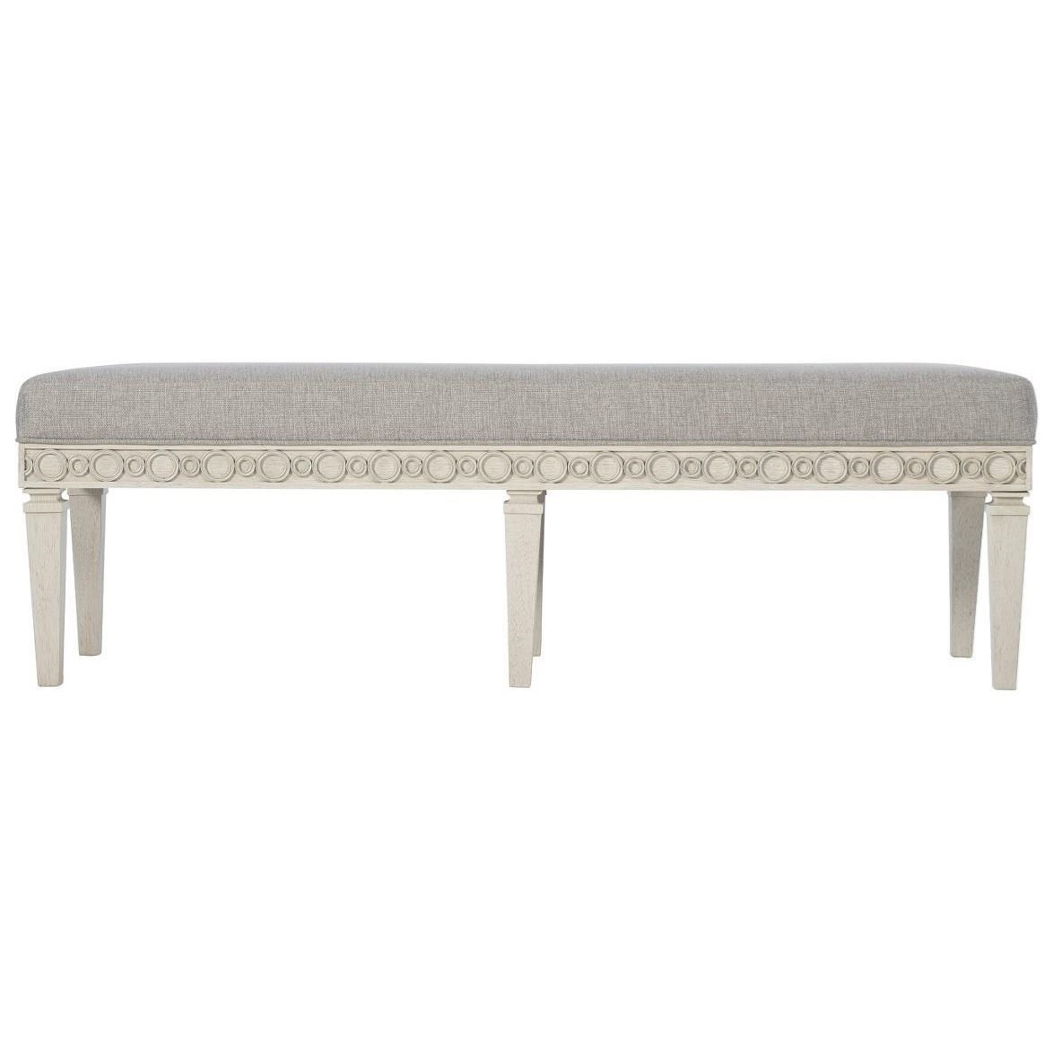 Allure Accent Bench by Bernhardt at Baer's Furniture