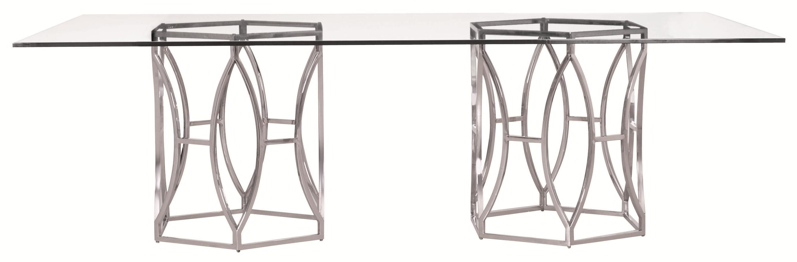 Argent  Argent Rectangular Dining Table at Williams & Kay