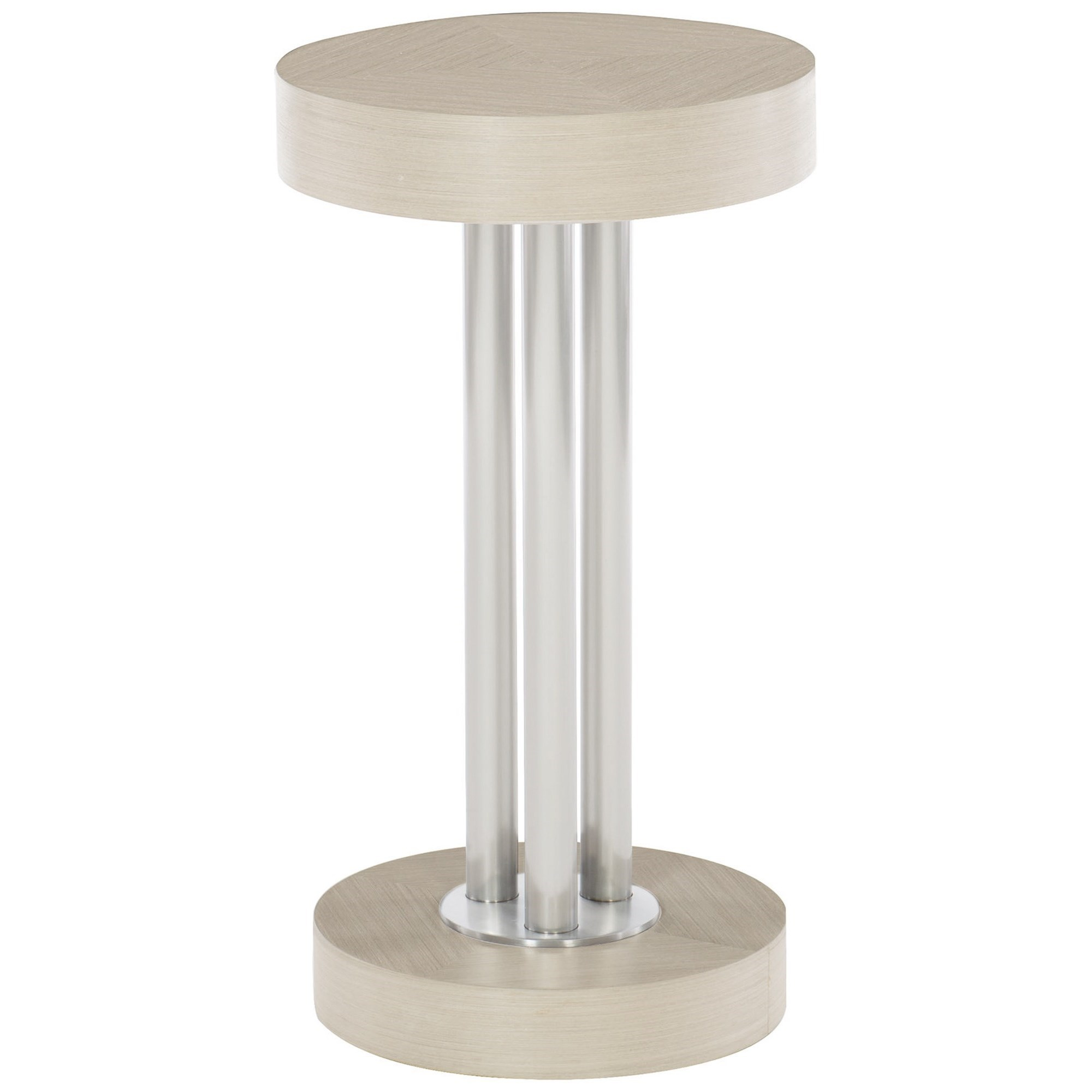 Axiom Round Chairside Table by Bernhardt at Baer's Furniture