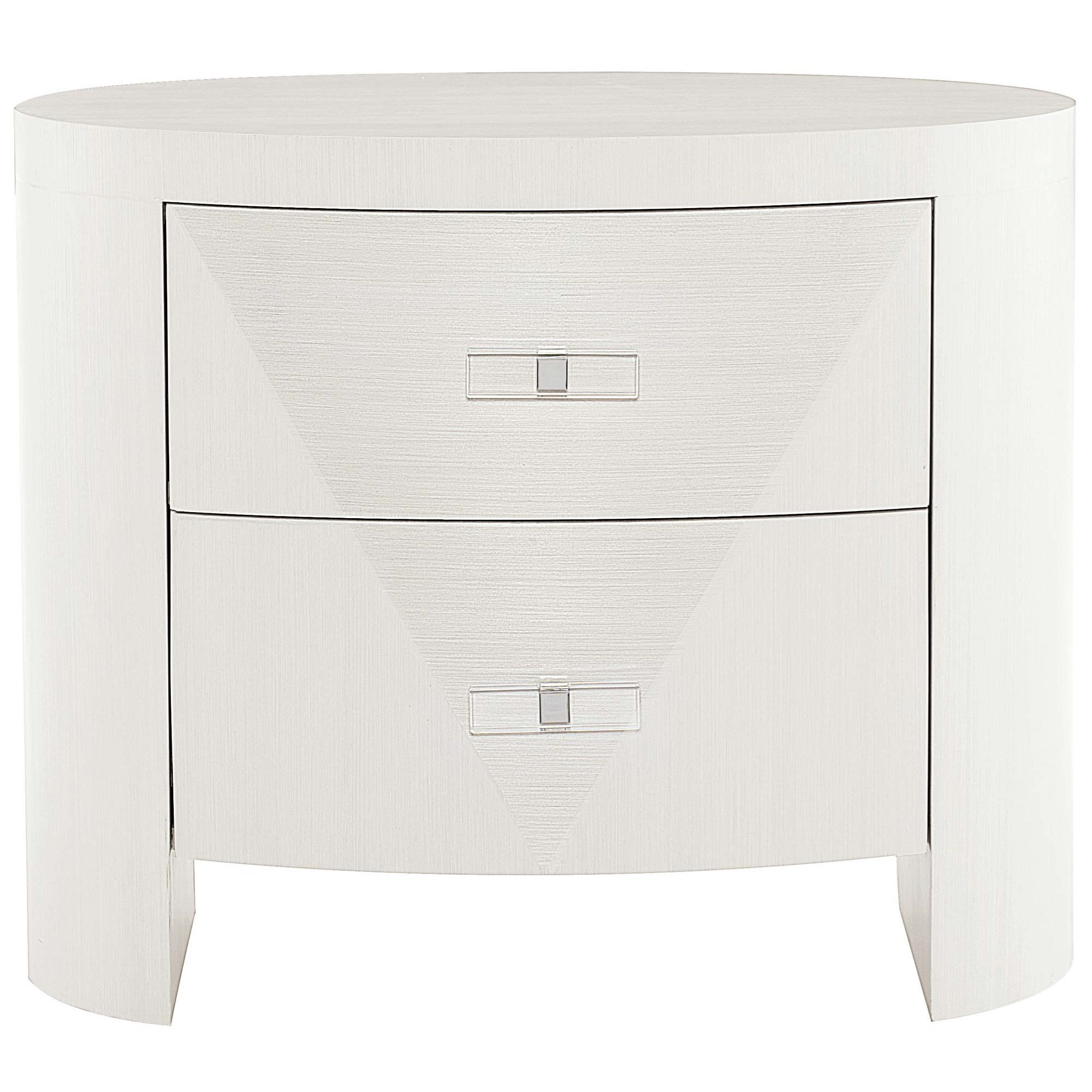 Axiom Oval Nightstand at Williams & Kay