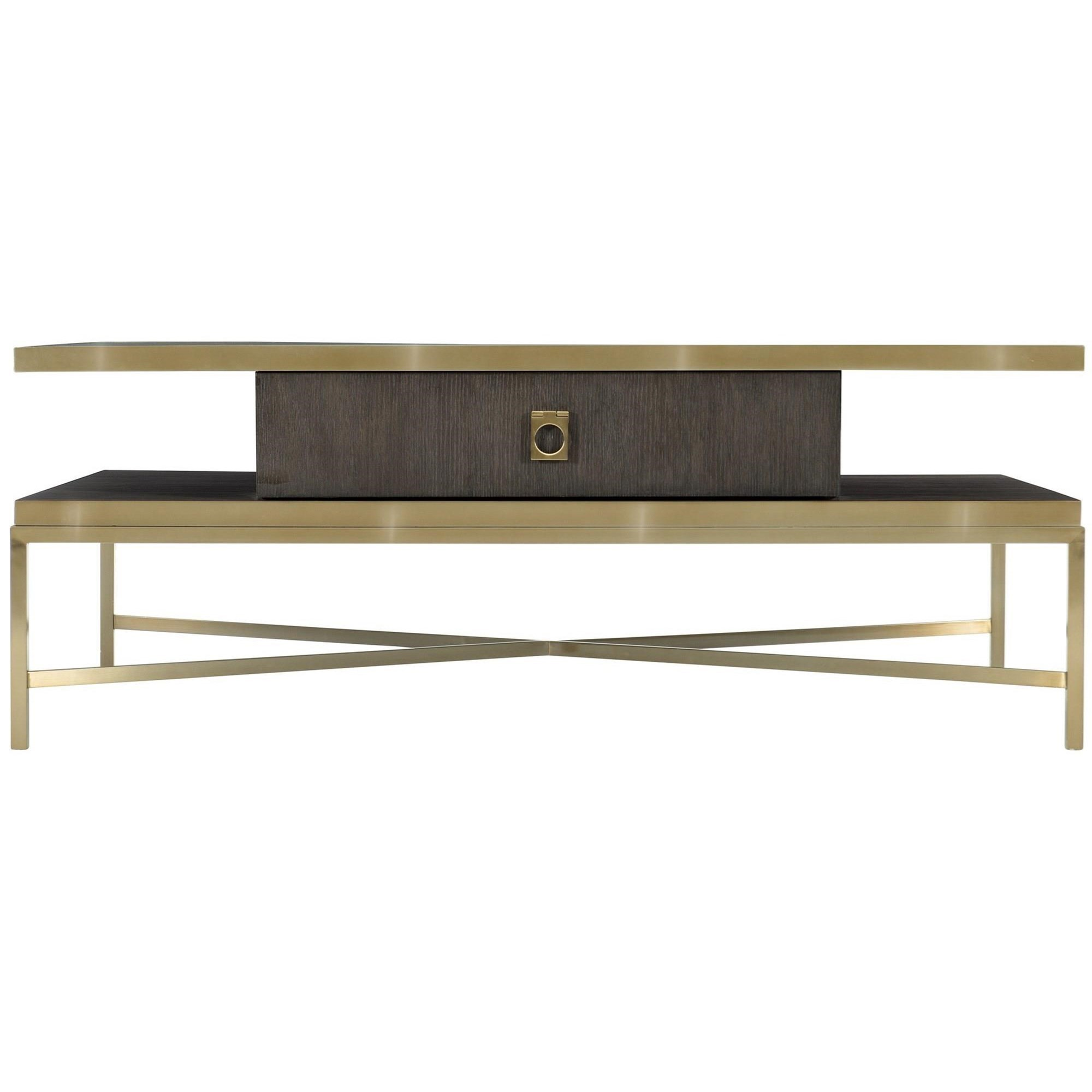 Beaumont Cocktail Table by Bernhardt at Fisher Home Furnishings
