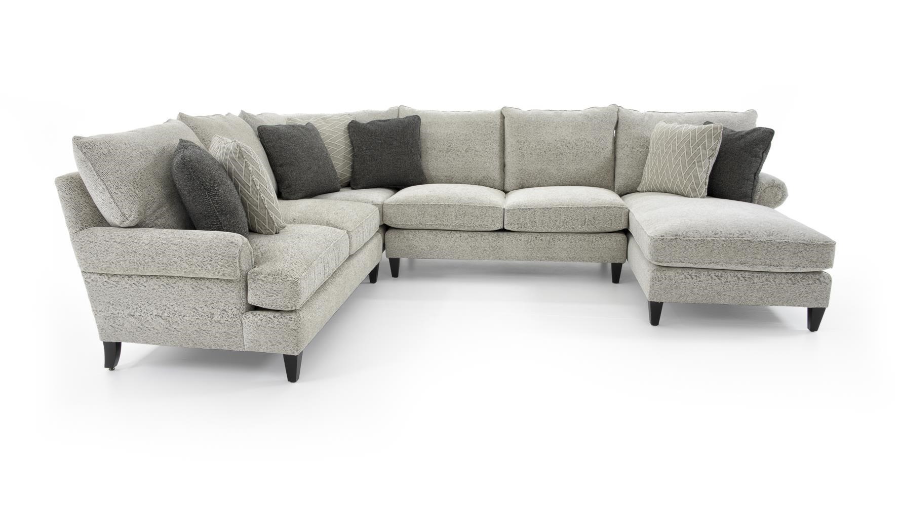 Signature Seating Customizable Sectional w/ Chaise by Bernhardt at Baer's Furniture