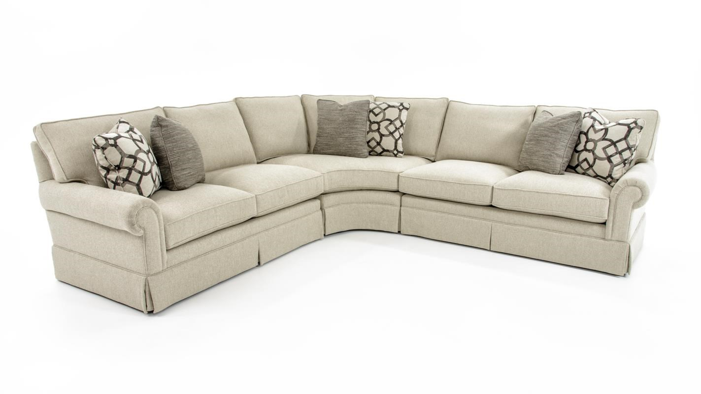 Signature Seating 4 Pc Sectional Sofa by Bernhardt at Baer's Furniture