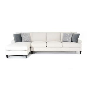Customizable Sofa with LAF Chaise