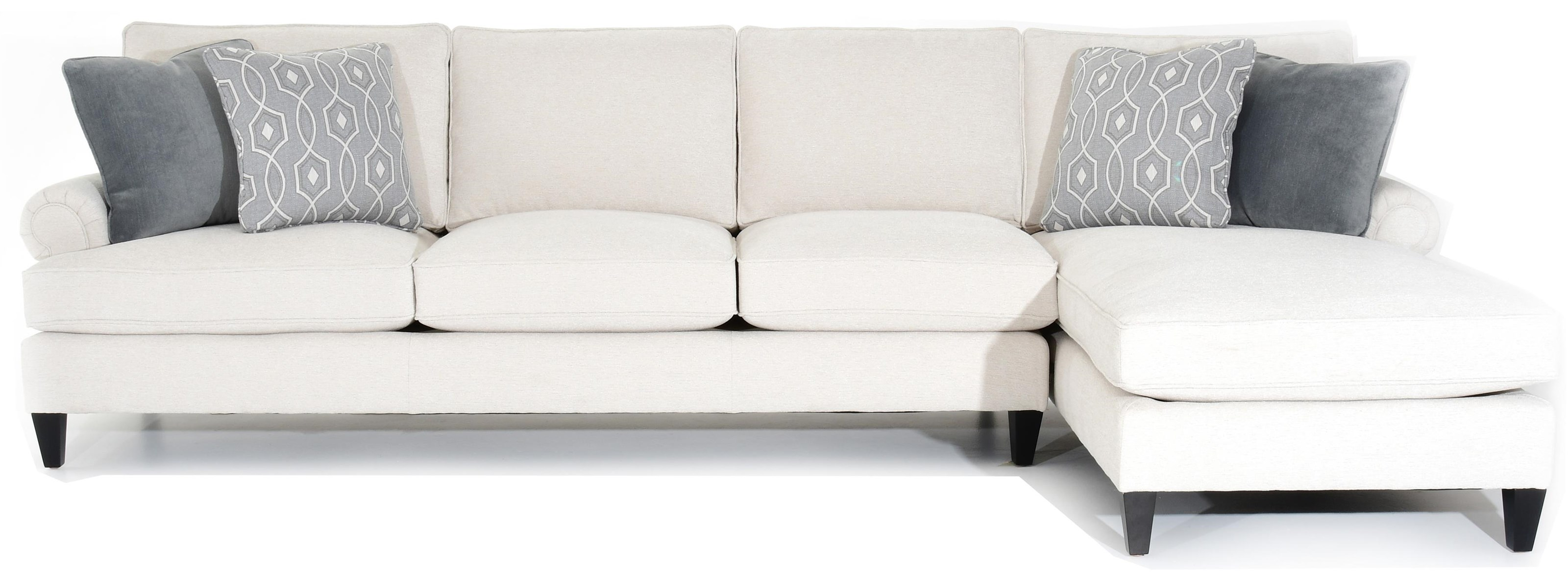 Customizable Sofa with RAF Chaise
