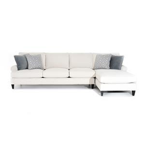 Customizable Sofa with RAF Chaise