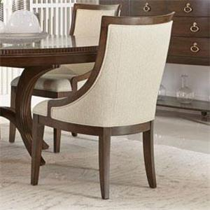 Dining Chair with Sloped Arms