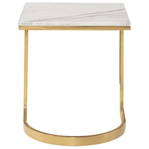 Contemporary Square End Table