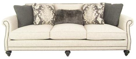 Elegant and Traditional Living Room Sofa with High End Furniture Style