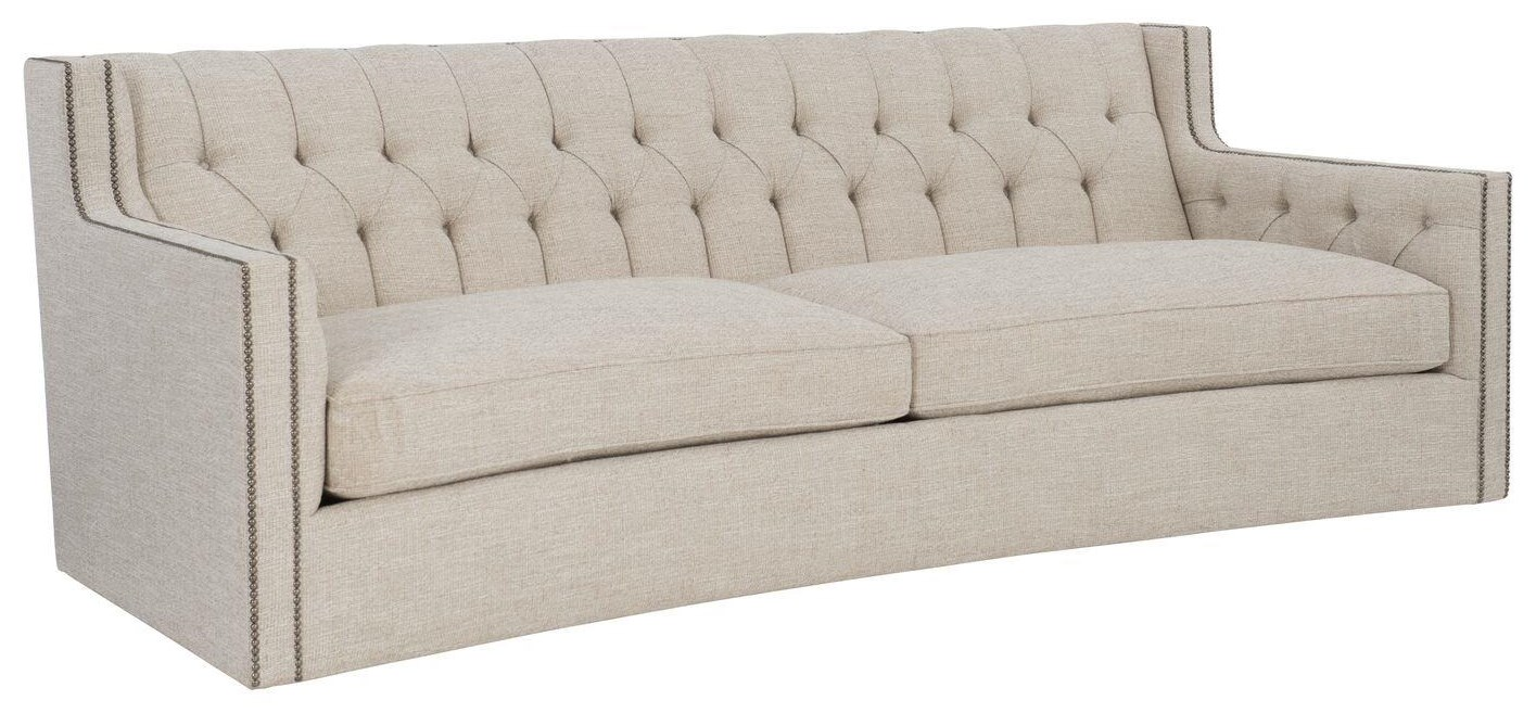 Candace Curved Sofa by Bernhardt at Baer's Furniture