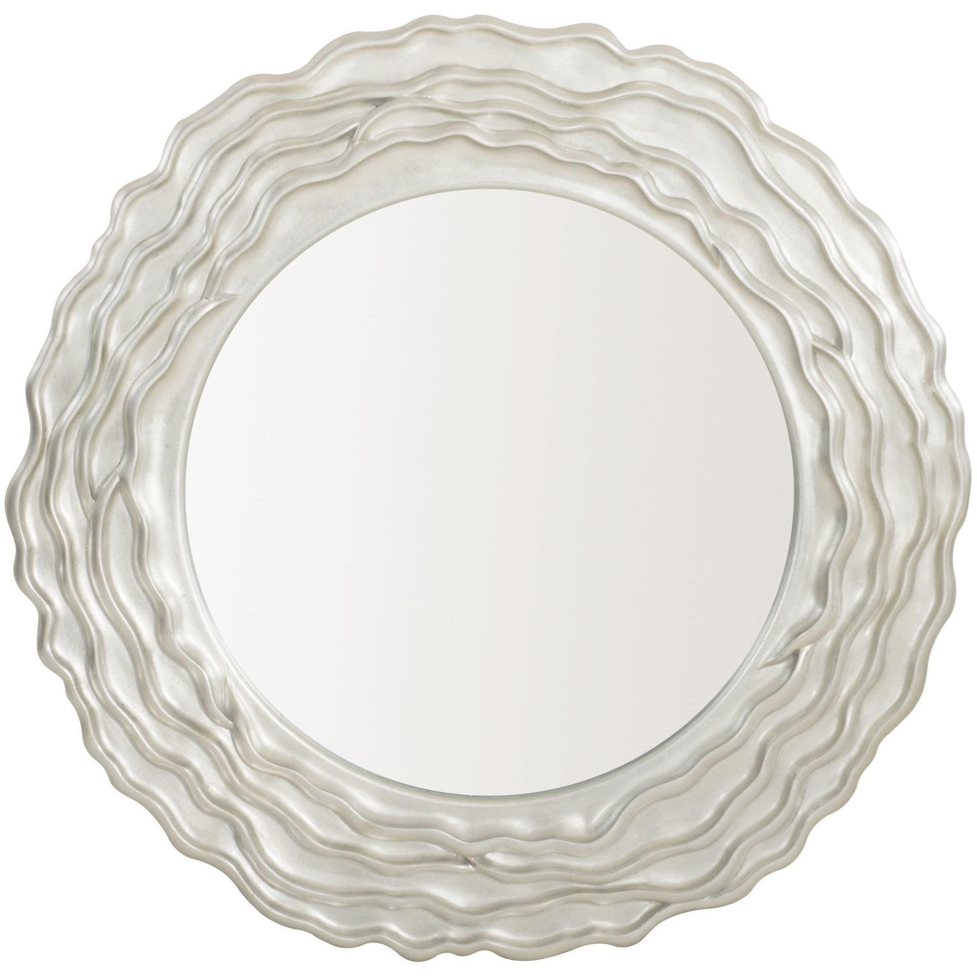 Calista Round Mirror by Bernhardt at Baer's Furniture