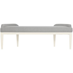 Transitional Upholstered Bench