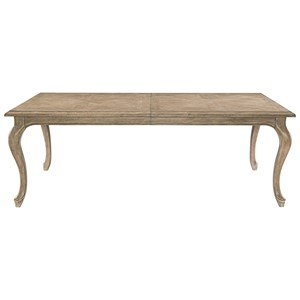 Rectangular Dining Table with Cabriole Legs