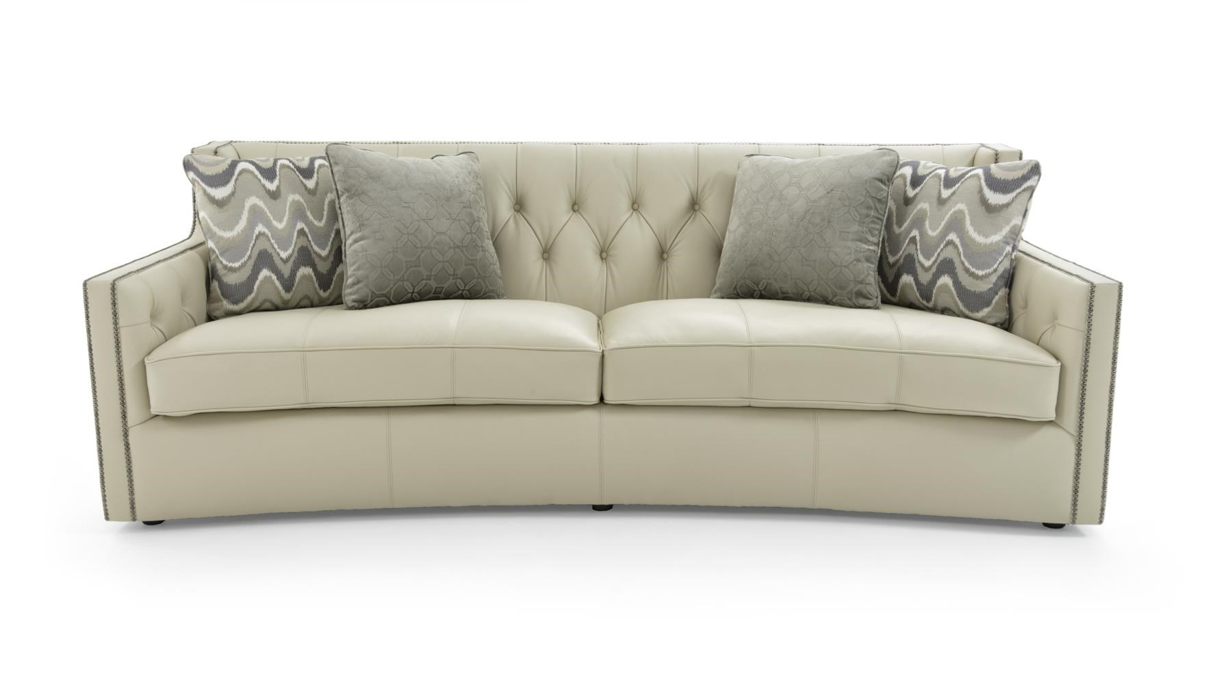 Sofa with Transitional Elegance
