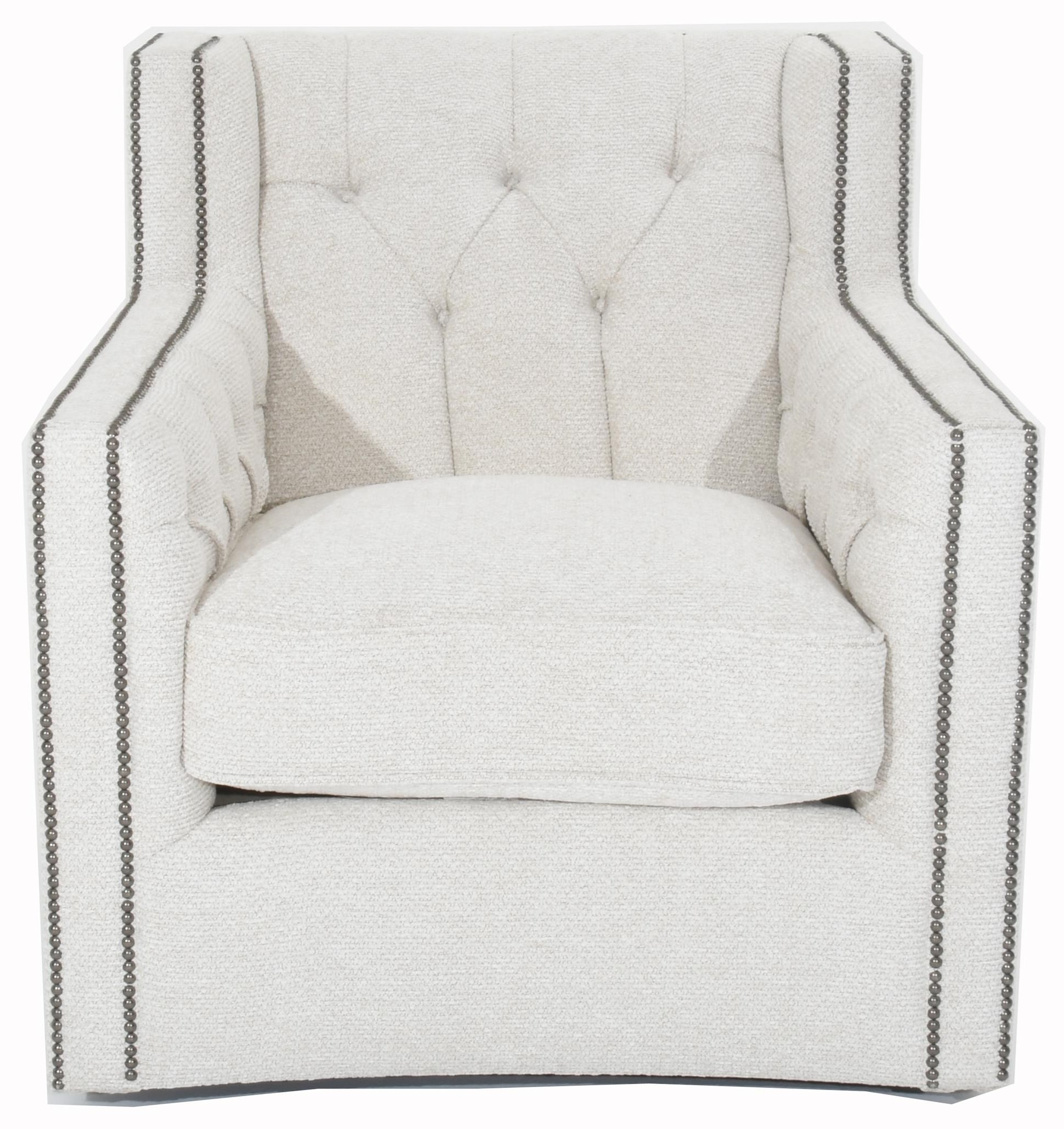 Candace Swivel Chair by Bernhardt at Baer's Furniture