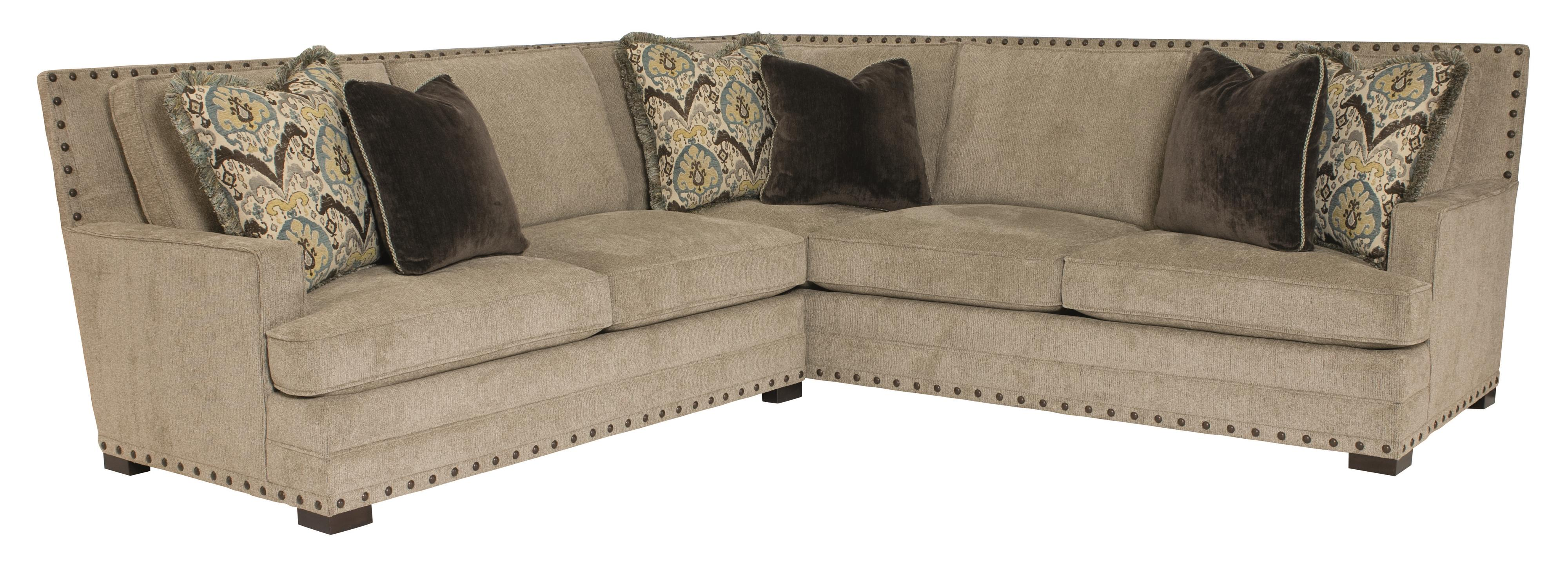 Cantor  Sectional Sofa by Bernhardt at Thornton Furniture
