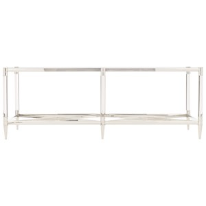 Metal Rectangular Cocktail Table