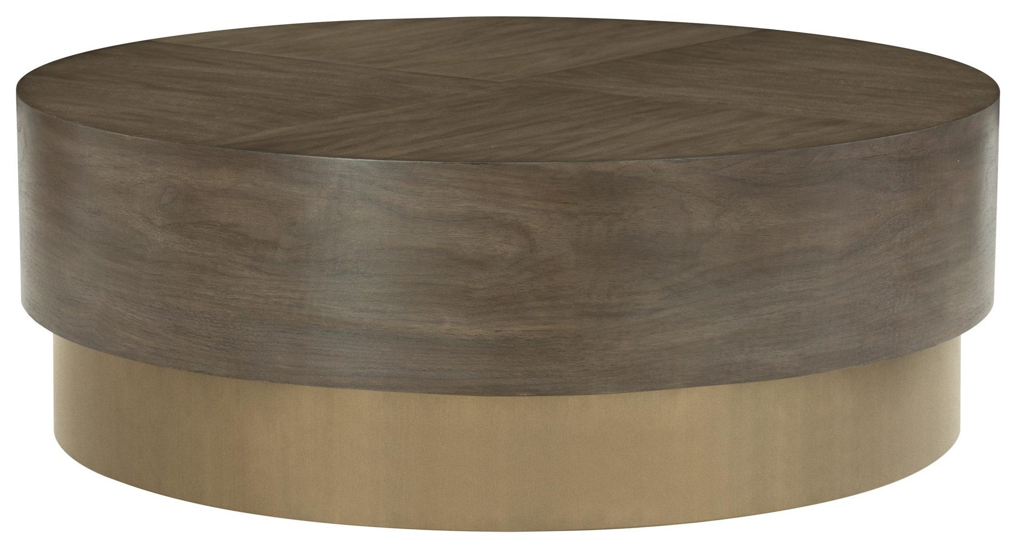 Clarendon Clarendon Round Cocktail Table by Bernhardt at Morris Home