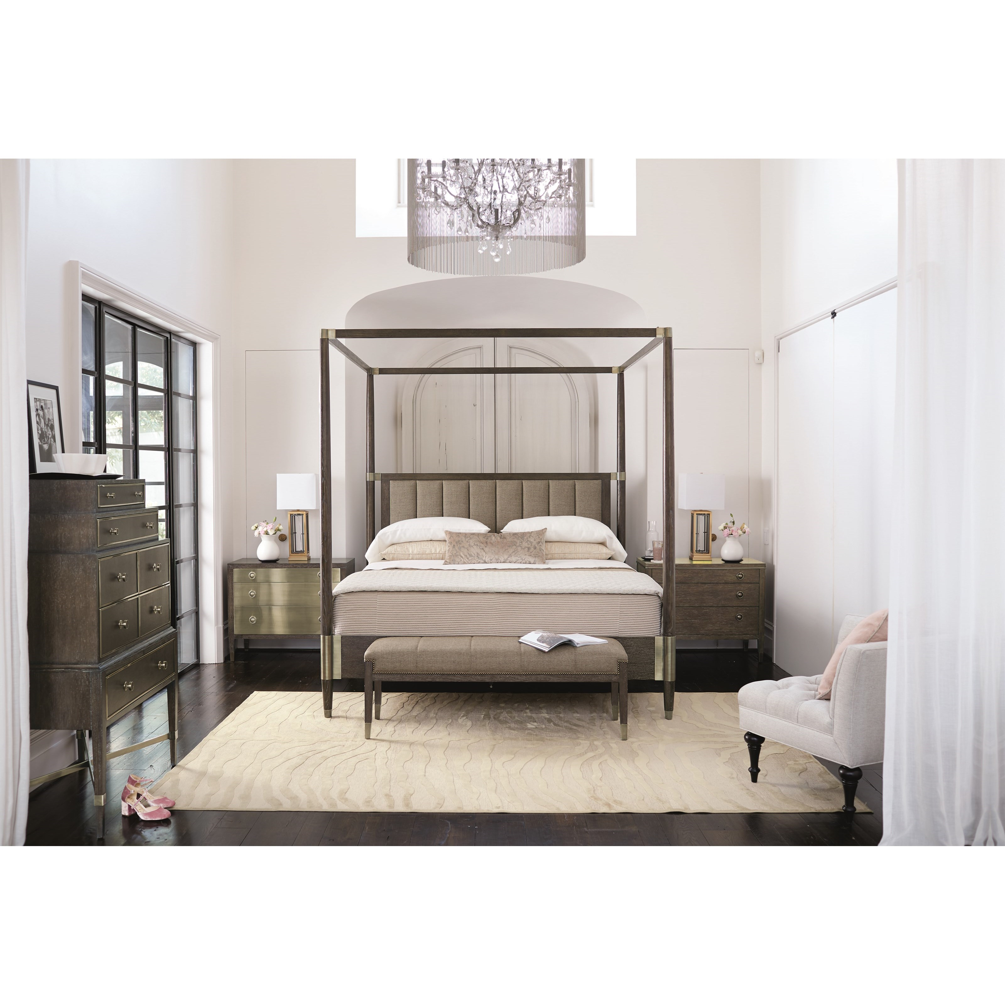 Clarendon King Bedroom Group at Williams & Kay