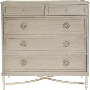 Drawer Chest with 2 Drop-Front Drawers