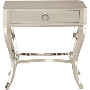 Nightstand with Cabriole Legs