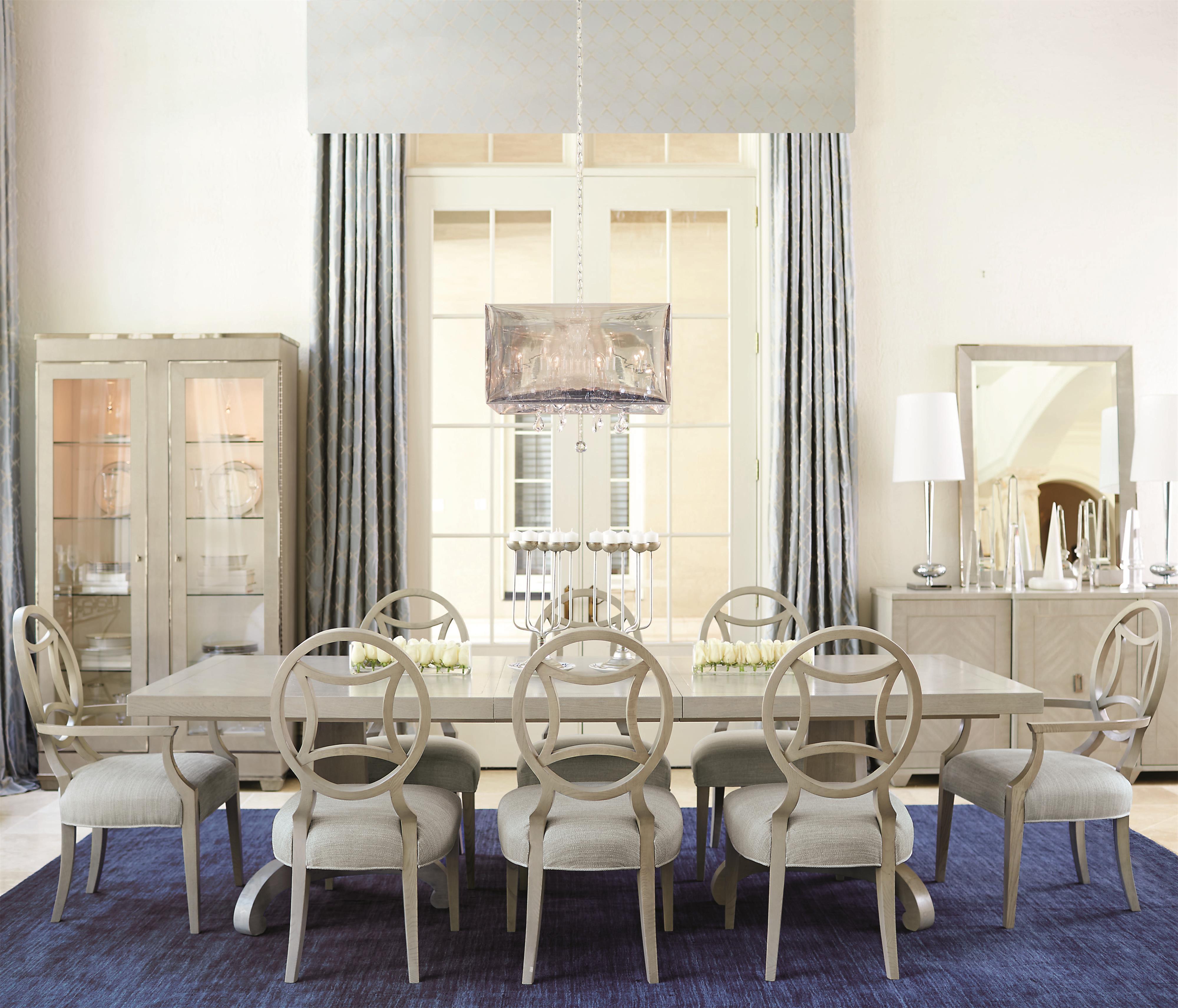 Criteria 9 Piece Dining Set by Bernhardt at Baer's Furniture