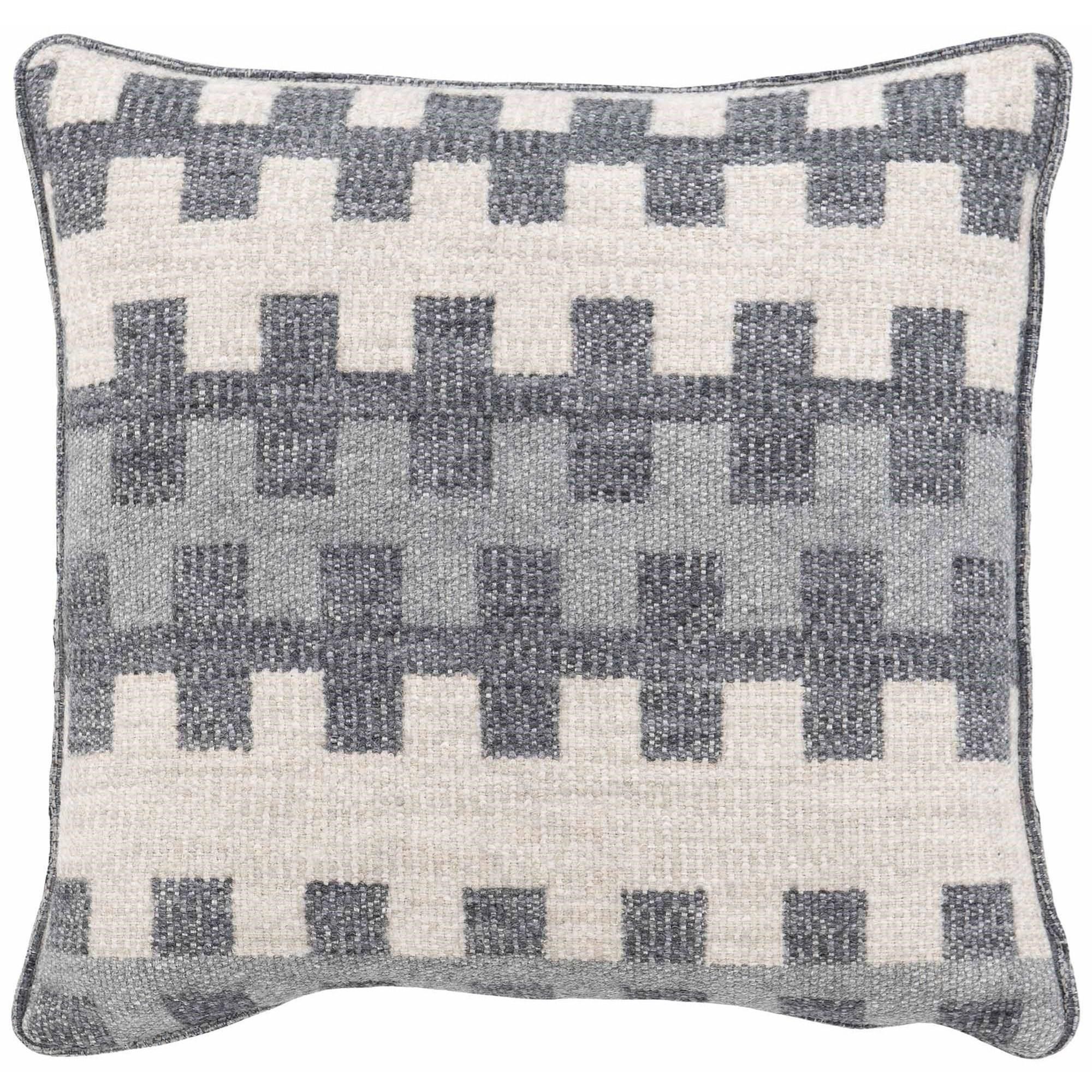 "Custom Decorative Pillows Knife Edge Square w/welt (21"" x 21"") at Williams & Kay"
