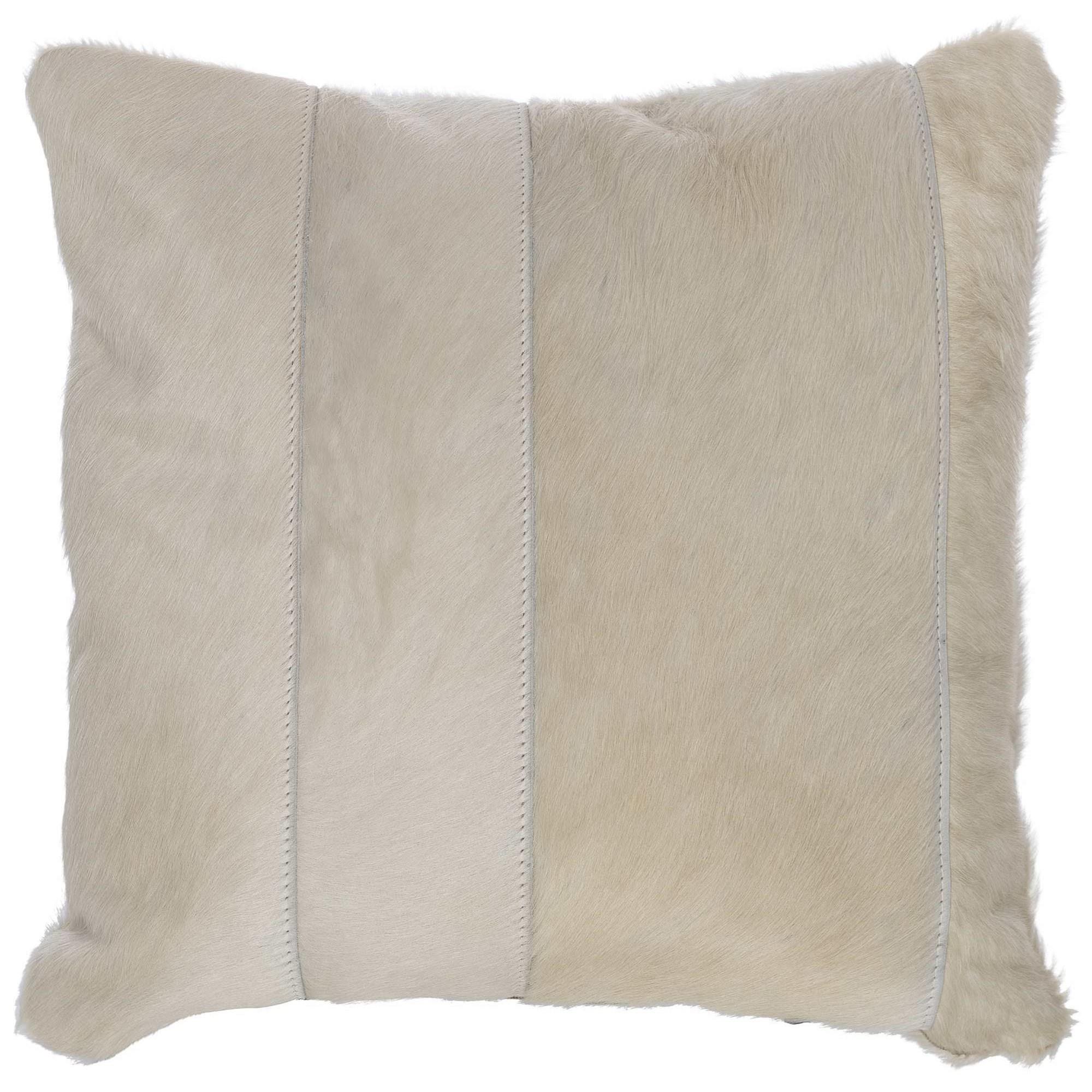 "Custom Decorative Pillows Knife Edge Square weltless (20"" x 20"") at Williams & Kay"