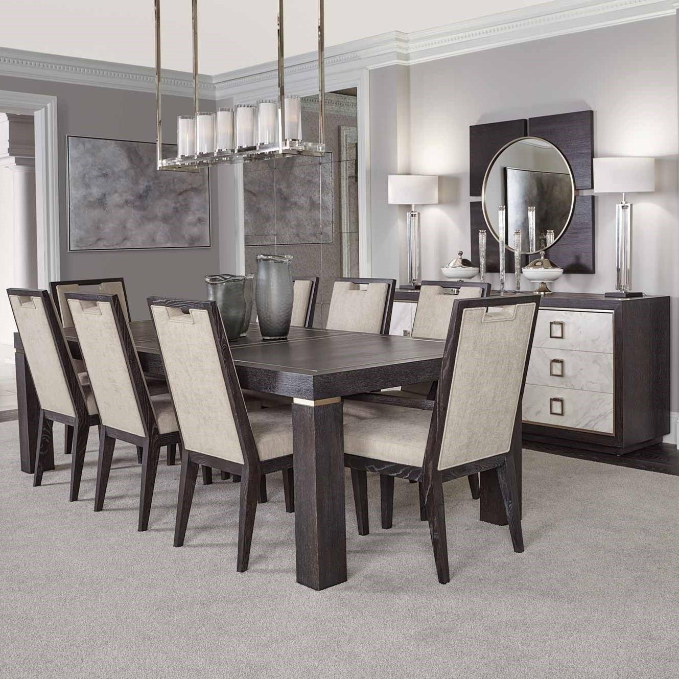 Decorage Formal Dining Room Group by Bernhardt at Baer's Furniture