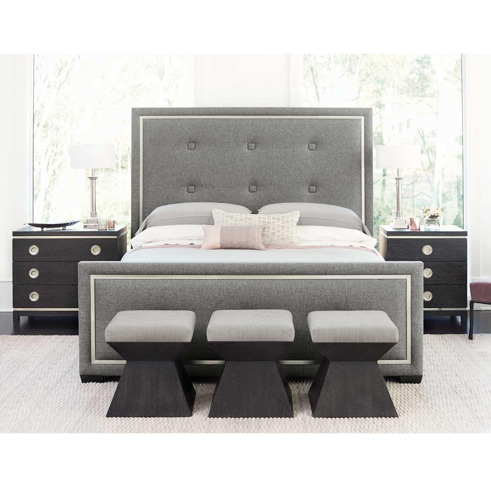 Decorage Queen Bedroom Group by Bernhardt at Baer's Furniture