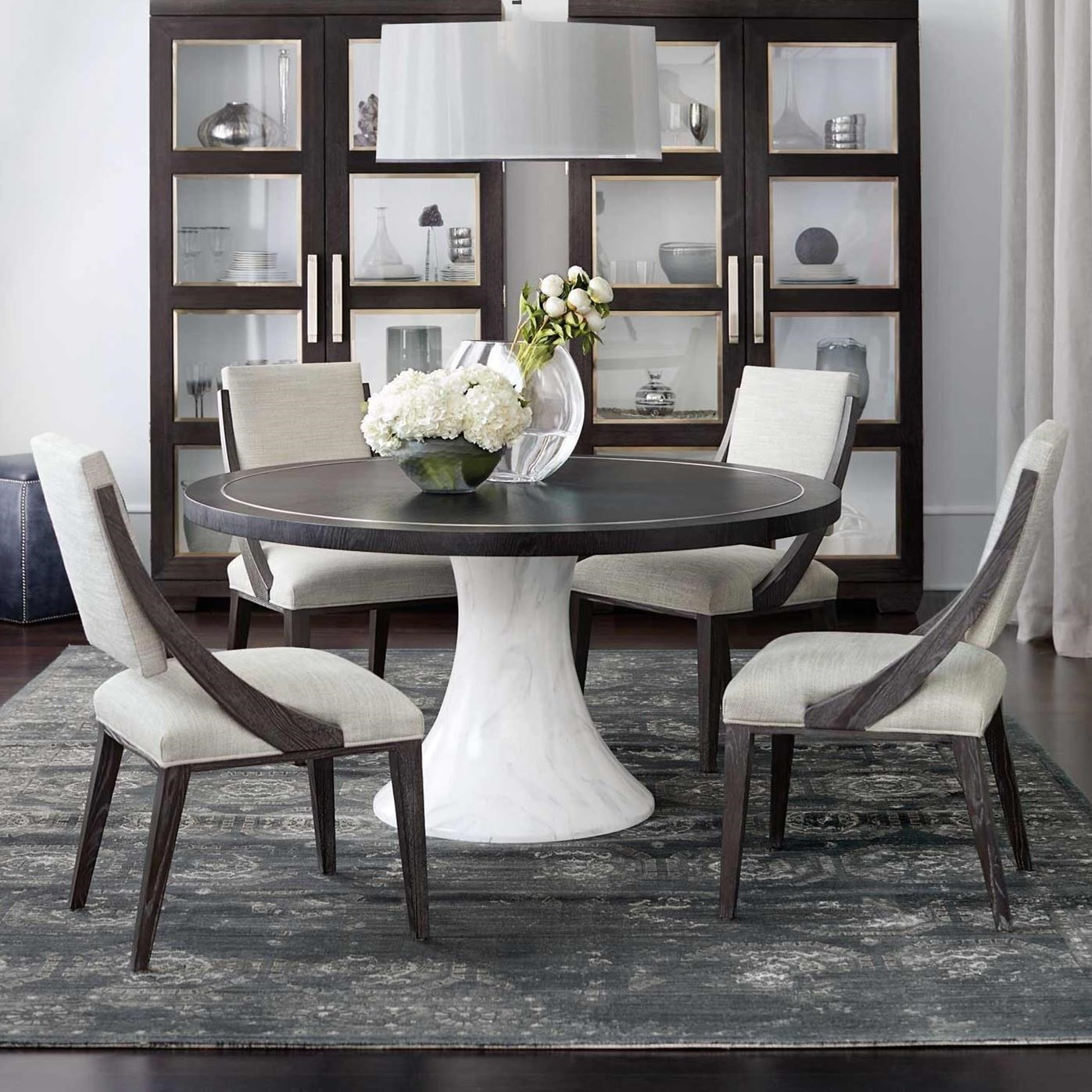 Decorage 5 Piece Table and Chair Set by Bernhardt at Baer's Furniture